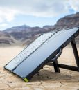 Boulder 100 solar panel folding briefcase – goal zero – with stand