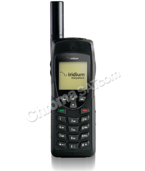 Iridium 9555 Satellite Phone Front Facing