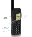 Iridium 9555 Satellite Phone Left Side
