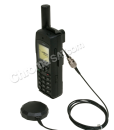 Iridium 9555 Satellite Phone with external mag-mount antenna