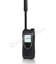Iridium 9575 Extreme Satellite Phone – front with antenna extended straight up
