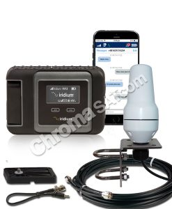 iridium GO satellite phone marine installation package