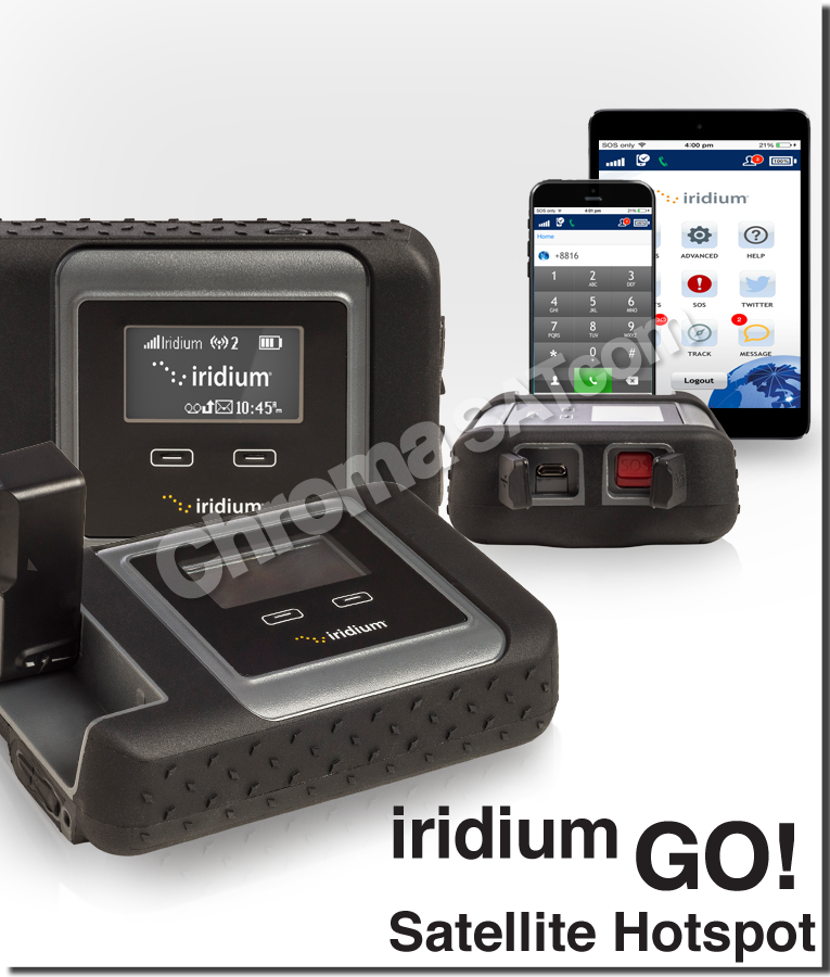 iridium go satellite hotspot product collage