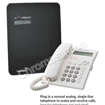 Ocean 400 Fixed-Site Satellite Phone Terminal-with POTS phone